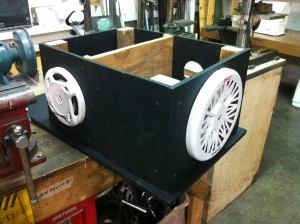 06 - subwoofer mounted
